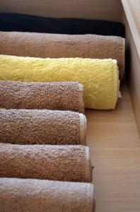 Organised Towels