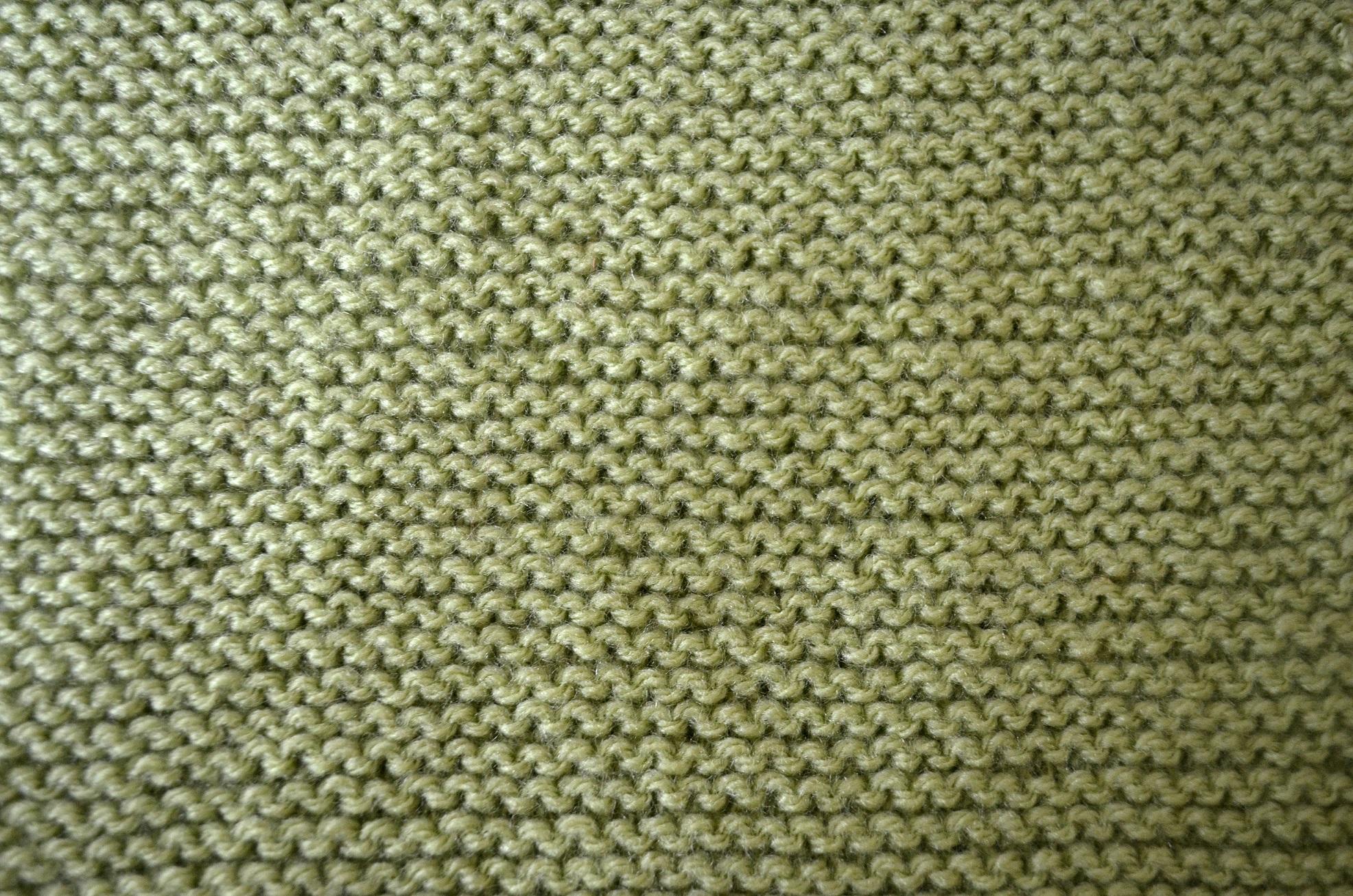 Garter Stitch Patchwork Square - Cottontail Design