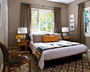 Neutral Bedroom Interior Design