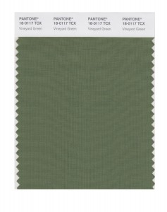 Pantone Vineyard Green