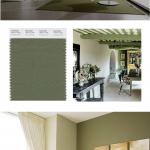 Vineyard Green interior color