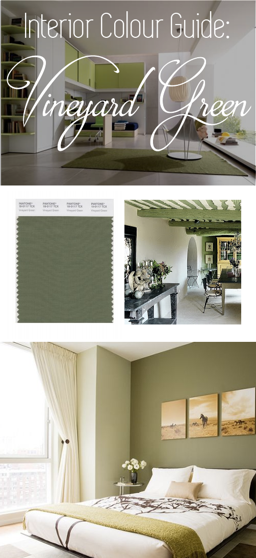 Vineyard Green interior color