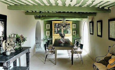 vineyard green dining room