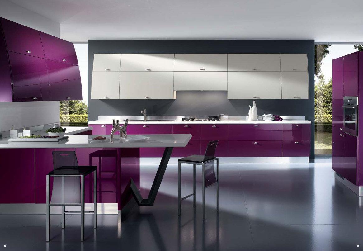 Beautiful modern homes interior -  Beautiful Contemporary Home Interior Exterior With Interior Decoration Purple