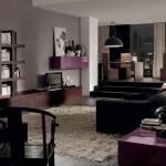 Wood Violet in Living Room