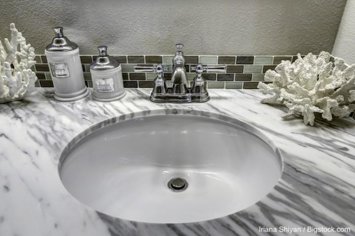 Beach Bathroom Vanity Cabinet