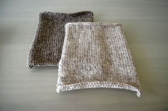 Stocking Stitch Squares