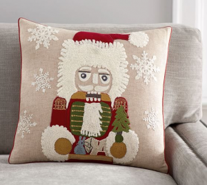 Nutcracker Pillow