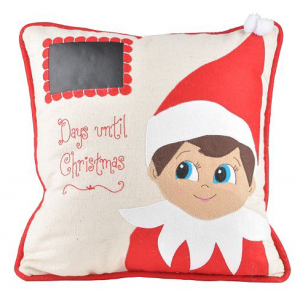 Elf Chalkboard pillow