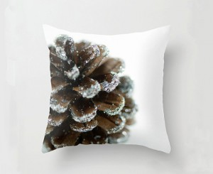 pine cone pillow
