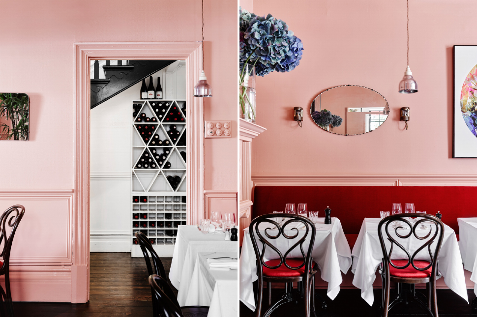 Rose Quartz Dining Interior