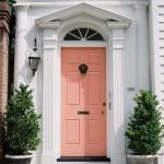 Peach Echo Door