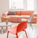 Peach Echo Living Room