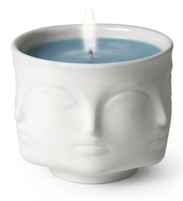 Airy Blue Candle