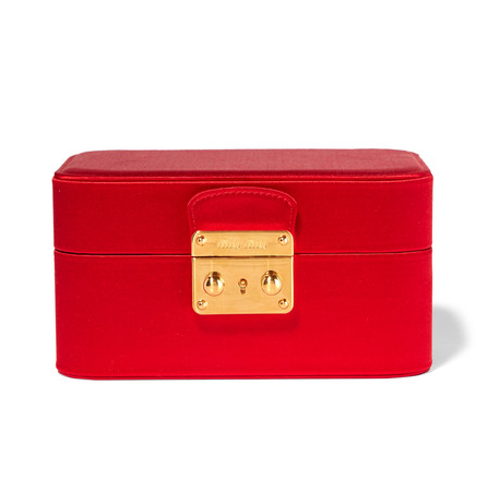 Aurora Red Jewellery Box