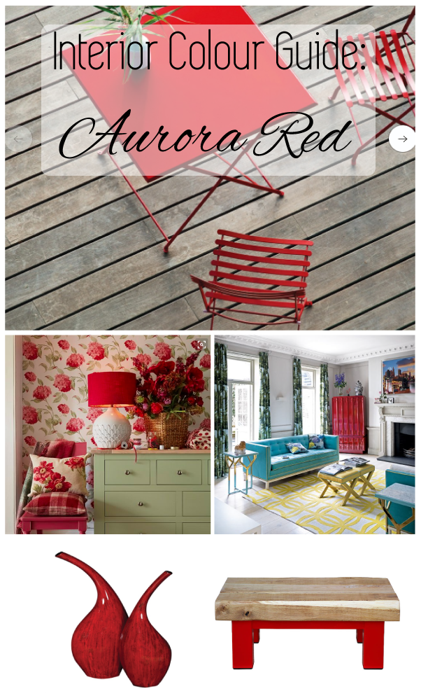 Aurora Red Interior Design